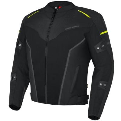 Textilná bunda Rebelhorn Hiflow IV, čierno- fluo žltá