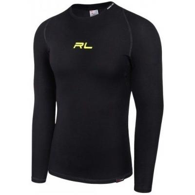 Termo tričko REDLINE SATURN OUTLAST, dlhý rukáv, čierno-žltá fluo
