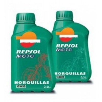 OLEJ DO TLMIČOV- Repsol Moto Horquillas 10W20 a 15W30 500ml, do motorky