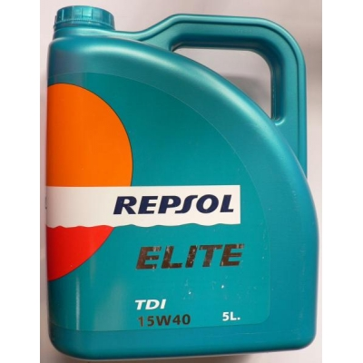 Repsol Elite TDI 15W40 5L, do automobilov