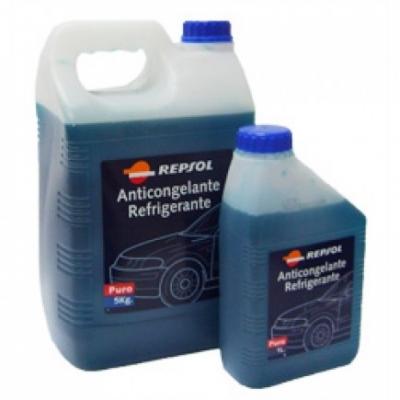 Repsol Moto Anticongelante Puro, chladiaca nemrznúca kvapalina, 1L