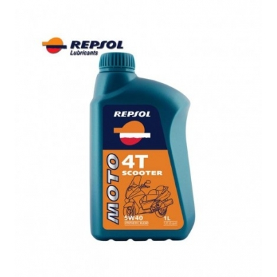 Repsol Moto Scooter 4T 5W40 1L, do skútra