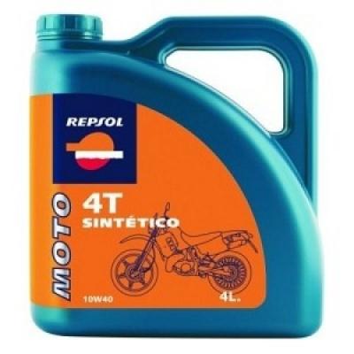 Repsol Moto Sintetico 4T 10W40 4L, na motorku