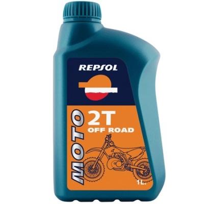 Repsol Moto Off-road 2T, na motorku