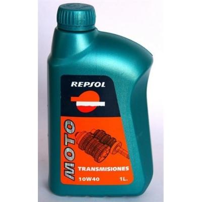 Repsol Moto Transmisiones 10W40 1L, na motorku