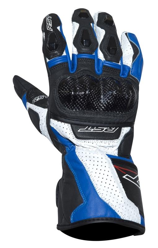 Kožené rukavice RST Delta III čierno-modré b3a5746aff