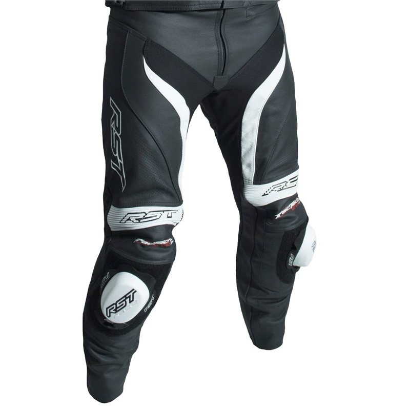 37d7e171660d Kožené nohavice RST TRACTECH EVO III - čierno-biele