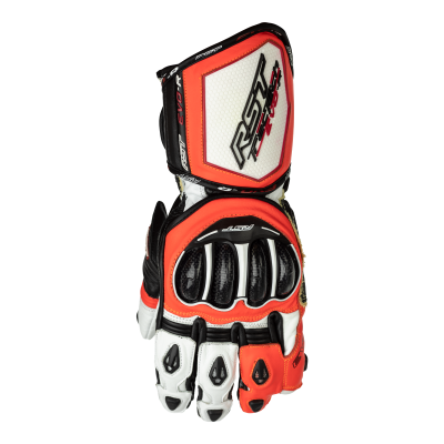 Kožené rukavice RST 2092 Tractech Evo R CE červené