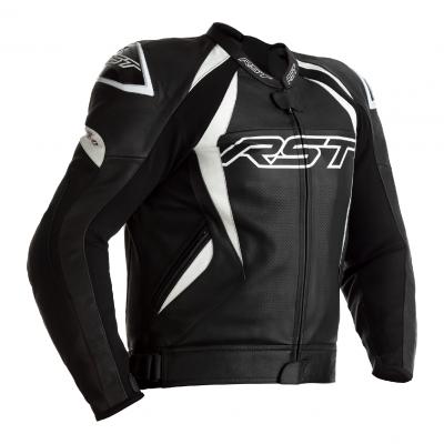 Kožená bunda RST 2357 Tractech Evo 4 CE, čierno-biela