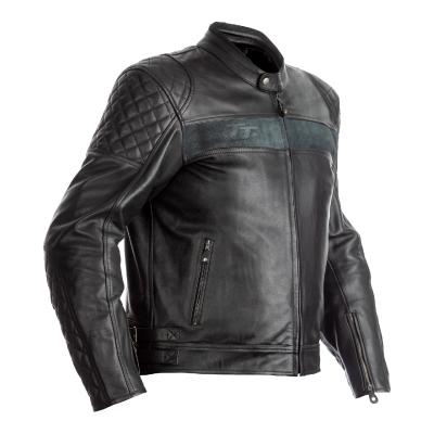 Kožená bundaRST 2375 IOM TT Brandish CE čierna