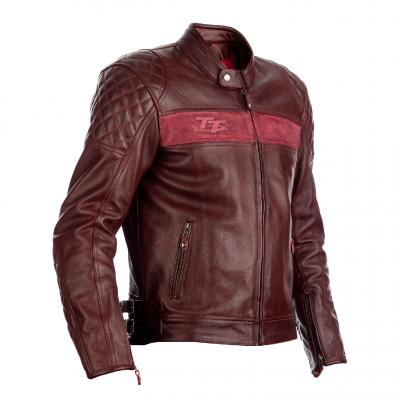 Kožená bunda RST 2375 IOM TT Brandish CE RED