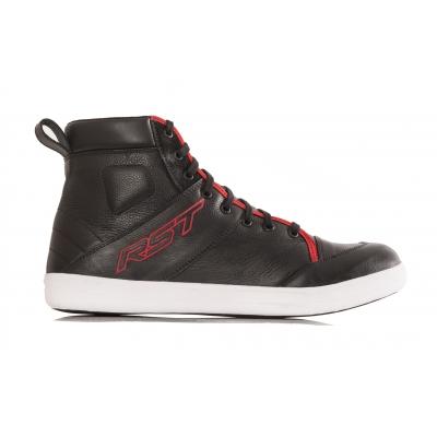 Kožené topánky RST Urban II čierno-červené, na motorku