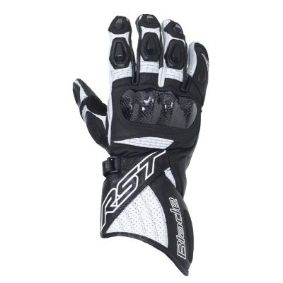 Kožené rukavice RST Blade Lady čierno-biele 0f941d2f02