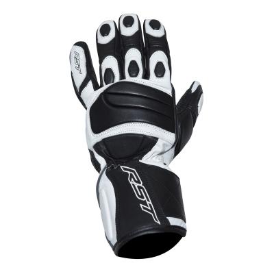 Kožené rukavice RST Urban II čierno-biele, na motorku