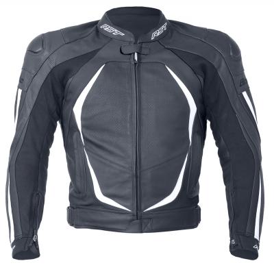 Kožená bunda RST Blade II čierno-biela, na motorku