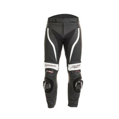 Kožené nohavice RST Tractech Evo II čierno-biele, na motorku