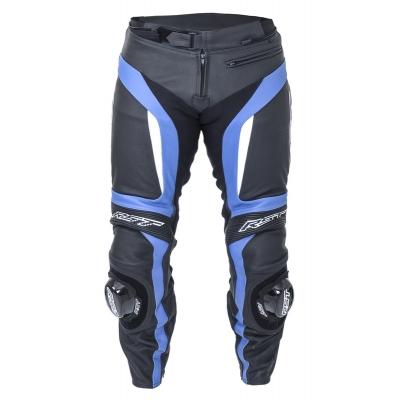 Kožené nohavice RST Blade II čierno-modré, na motorku