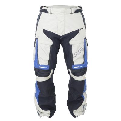 Textilné nohavice RST Adventure III PRO series bielo-modré, na motorku