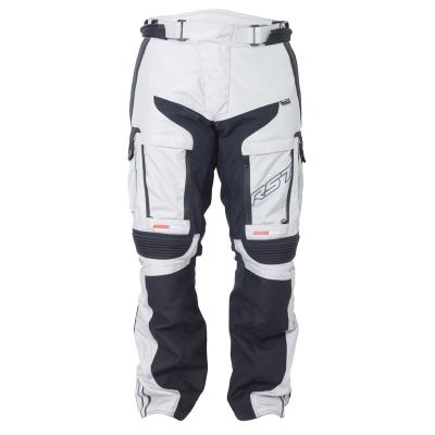 Textilné nohavice RST Adventure III PRO series bielo-sivé, na motorku