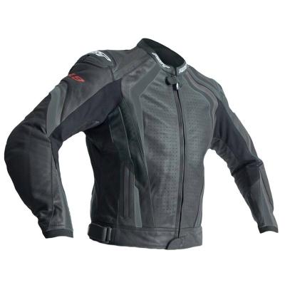Kožená bunda RST R-18 čierna