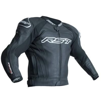 Kožená bunda RST TRACTECH EVO III - čierna