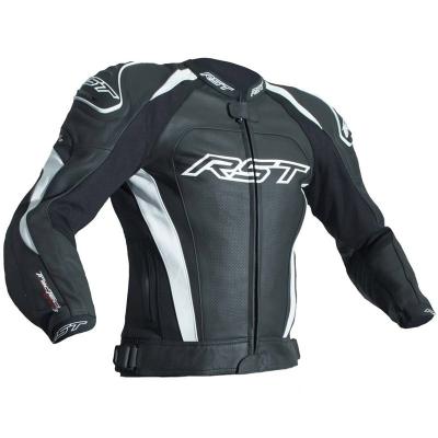 Kožená bunda RST TRACTECH EVO III - čierno-biela