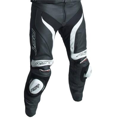 Kožené nohavice RST TRACTECH EVO III - čierno-biele