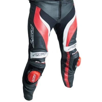 Kožené nohavice RST TRACTECH EVO III - čierno-červené