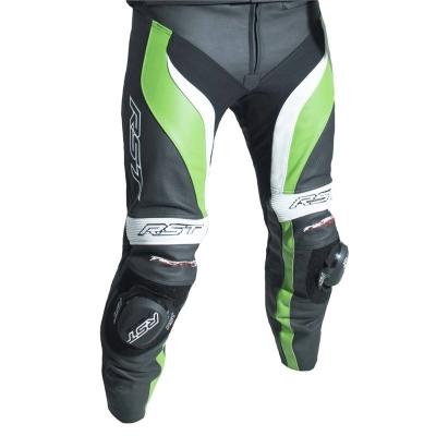 Kožené nohavice RST TRACTECH EVO III - čierno-zelené