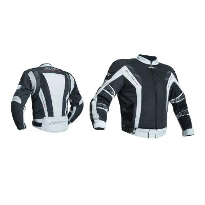 Textilná bunda RST Ventilator V PRO series čierno-sivá, na motorku