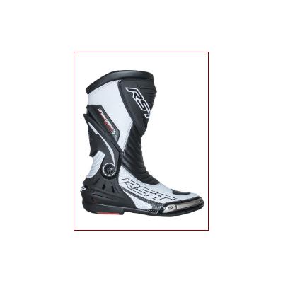 Cestné čižmy RST Tractech EvoSport III CE biele, na motorku
