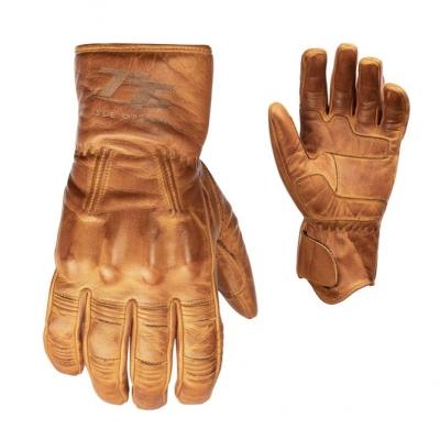Kožené rukavice RST 2240 IOM TT Hillberry CE svetlo-hnedé