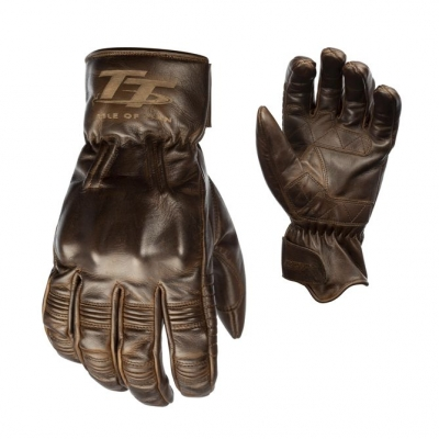 Kožené rukavice RST 2240 IOM TT Hillberry CE hnedé