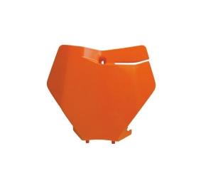 Predná tabuľka oranžová, SX,SXF-19