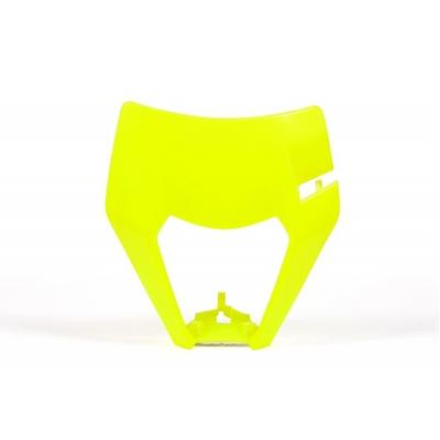 Maska predná RTech - žltá fluo KTM
