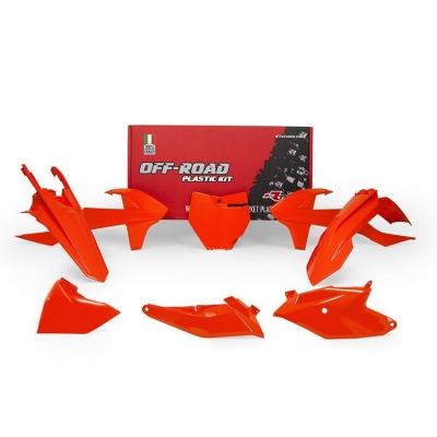 Sada plastov RTech - oranžová KTM