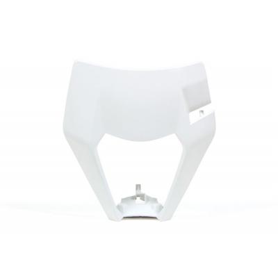 Maska predná RTech - biela KTM
