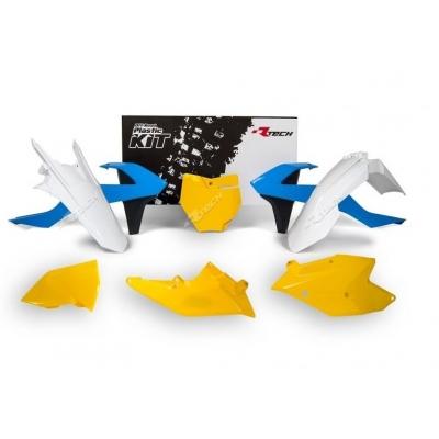 Sada plastov RTech - svetlo modrá, žltá KTM