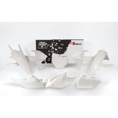 Sada plastov RTech - biela farba KTM