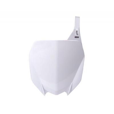 Predná tabuľka biela YZF 450 2018