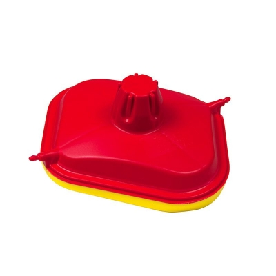 Kryt filtra vzduchu RTECH, červeno-žltý