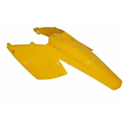 Zadný blatník s tabuľkami žlta