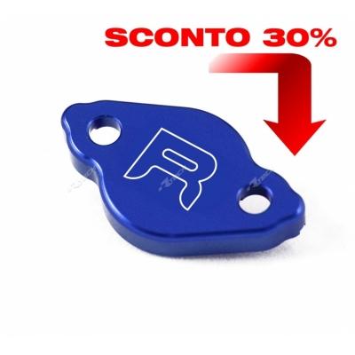 Víčko kvapaliny zadnej brzdy hliníkové modrá