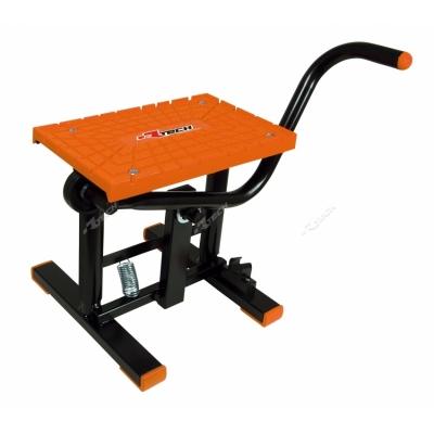 Stojan nášlapný na moto oranžová