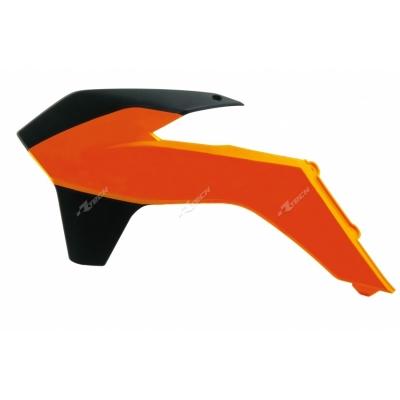 Kryt chladiča oranžovo čierna
