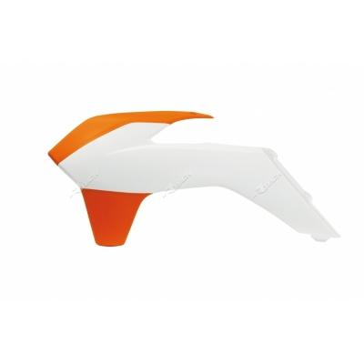 Kryt chladiča bielo oranžová