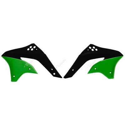 Kryt chladiča čierno zelena