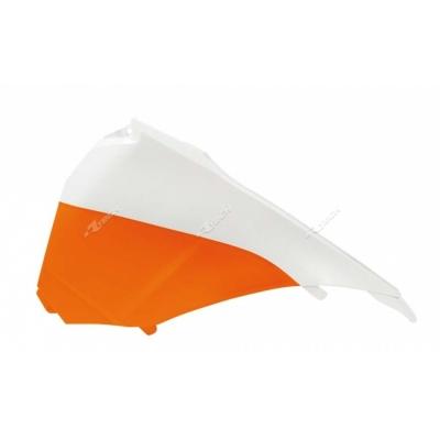 Zadné tabuľky oranžovo biela