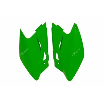 Zadné tabuľky zelená