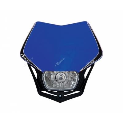 Predná maska so svetlom V-FACE modro čierna